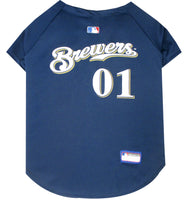Milwaukee Brewers Dog Jersey - FurMinded