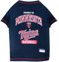 Minnesota Twins Dog Tee Shirt - FurMinded