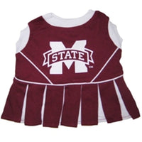 Mississippi State Bulldogs Cheerleader Dog Dress - FurMinded
