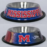 Mississippi Rebels Dog Bowl