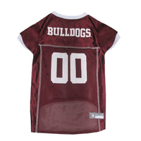 Mississippi State Bulldogs Dog Jersey - FurMinded