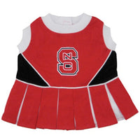 North Carolina State Wolfpack Cheerleader Dog Dress - FurMinded