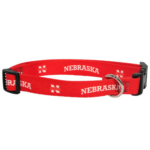 Nebraska Huskers Dog Collar - FurMinded