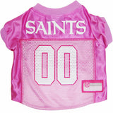 New Orleans Saints Dog Jersey - Pink - FurMinded