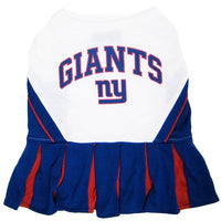 New York Giants Cheerleader Dog Dress - FurMinded