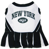 New York Jets Cheerleader Dog Dress - FurMinded