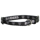 Oakland Raiders Dog Collar - FurMinded