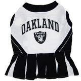Oakland Raiders Cheerleader Dog Dress - FurMinded