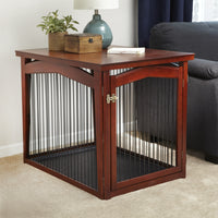 2‐in‐1 Configurable Pet Crate and Gate - FurMinded