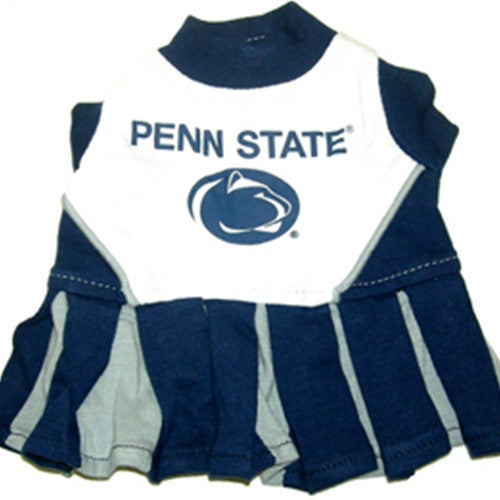 Penn State Lions Cheerleader Dog Dress - FurMinded