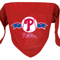 Philadelphia Phillies Mesh Dog Bandana - FurMinded