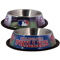 Philadelphia Phillies Dog Bowl - FurMinded