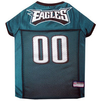 Philadelphia Eagles Dog Jersey - MESH Black Trim - FurMinded