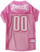 Philadelphia Eagles Dog Jersey - Pink - FurMinded