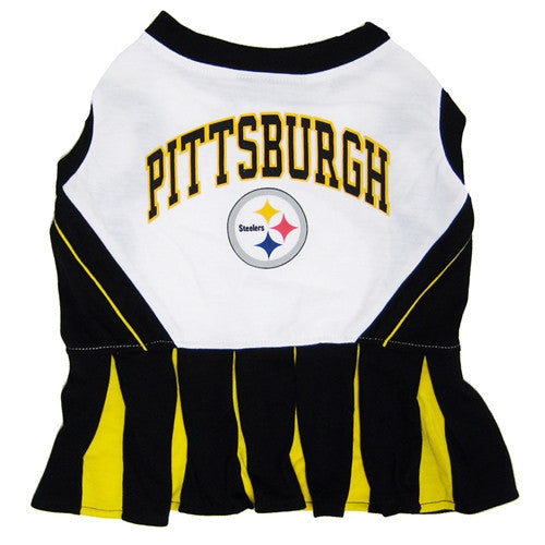 Pittsburgh Steelers Cheerleader Dog Dress - FurMinded