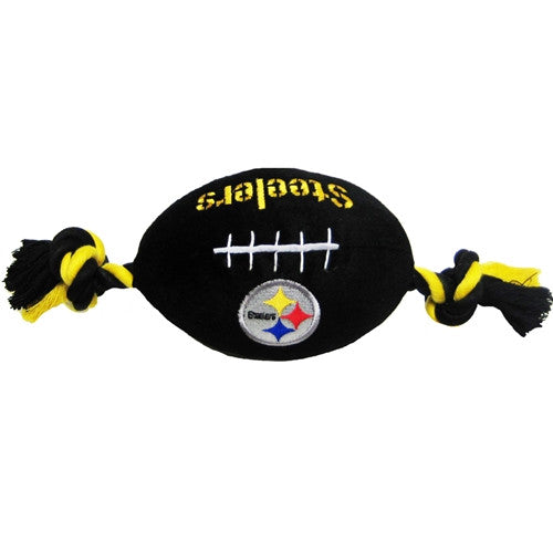 Pittsburgh Steelers Plush Dog Toy - FurMinded