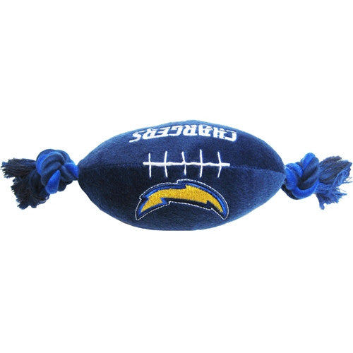 San Diego Chargers Plush Dog Toy - FurMinded