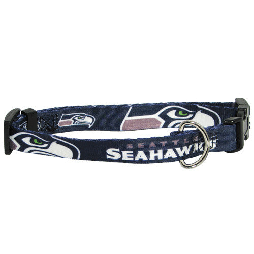 Seattle Seahawks Dog Collar - FurMinded