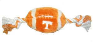 Tennessee Vols Plush Football Dog Toy - FurMinded