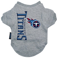 Tennessee Titans Dog T-Shirt - FurMinded