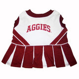 Texas A&M Aggies Cheerleader Dog Dress - FurMinded