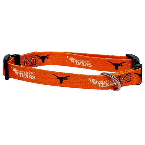 Texas Longhorns Dog Collar - FurMinded