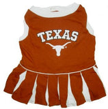 Texas Longhorns Cheerleader Dog Dress - FurMinded