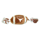 Texas Longhorns Plush Football Dog Toy - FurMinded