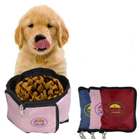 WALLET FOLDING Travel Pet Bowl - FurMinded