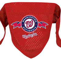 Washington Nationals Mesh Dog Bandana - FurMinded
