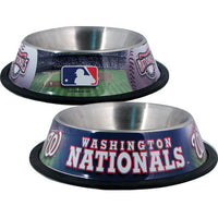 Washington Nationals Dog Bowl - FurMinded