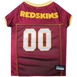 Washington Redskins Dog Jersey - MESH Yellow Trim - FurMinded