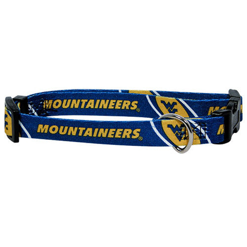 West Virginia Mountaineers Dog Collar - FurMinded