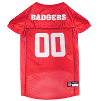 Wisconsin Badgers Dog Jersey - FurMinded