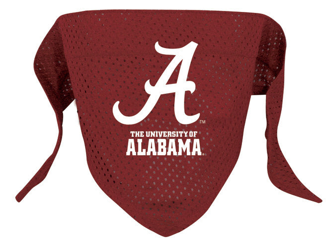 Alabama Crimson Tide Dog Bandana - FurMinded
