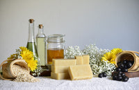 Natural Handmade Soap For the Human - Honey Oatmeal