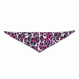 Dog Bandana Animal Print Pink - FurMinded