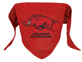 Arkansas Razorbacks Dog Bandana - FurMinded