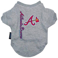 Atlanta Braves Dog T-Shirt - FurMinded
