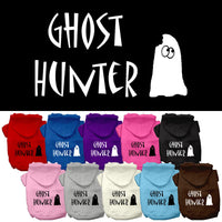 Basic Dog Hoodie (Screen Print) - Halloween Ghost Hunter