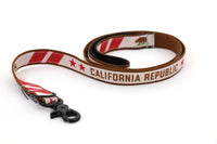 Basic Nylon Dog Leash California Republic - FurMinded