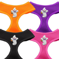Basic Soft Dog Harness - Chipper Halloween Ghost