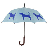 Beagle Umbrella (Royal Blue on Powder Blue) - FurMinded