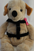Bow Tie Pink Dog Harness - FurMinded