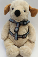 Calligraphy Brown Dog Harness - FurMinded