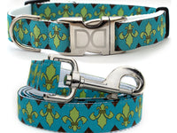 Camelot Dog Collar and Leash Set - FurMinded
