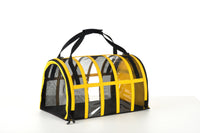 Designer Pet Carrier - Solid Bright Yellow - FurMinded