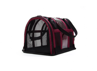 Designer Pet Carrier - Solid Burgundy - FurMinded