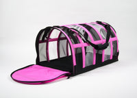 Designer Pet Carrier - Solid Pink - FurMinded