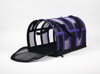 Designer Pet Carrier - Solid Purple - FurMinded